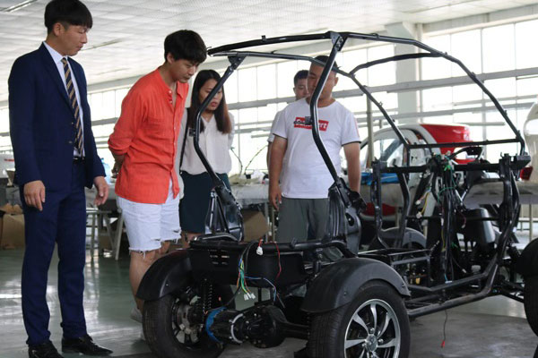 Customers from Korea Ordered 5 Mini Electric Cars