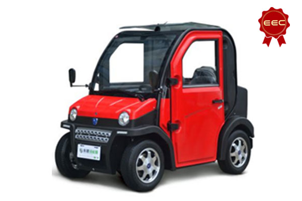 2 Seater EEC Electric Car with 2.8kw Power